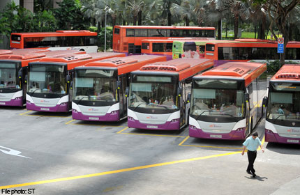 Higher Pay for Singapore SBS drivers