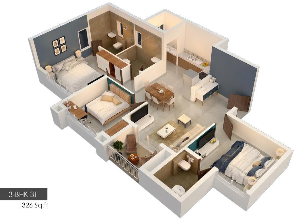 Embassy Edge Floor Plan